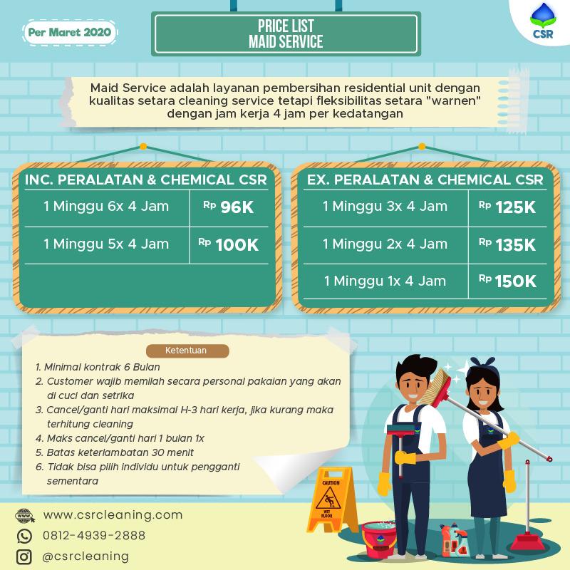 Price List CSR New