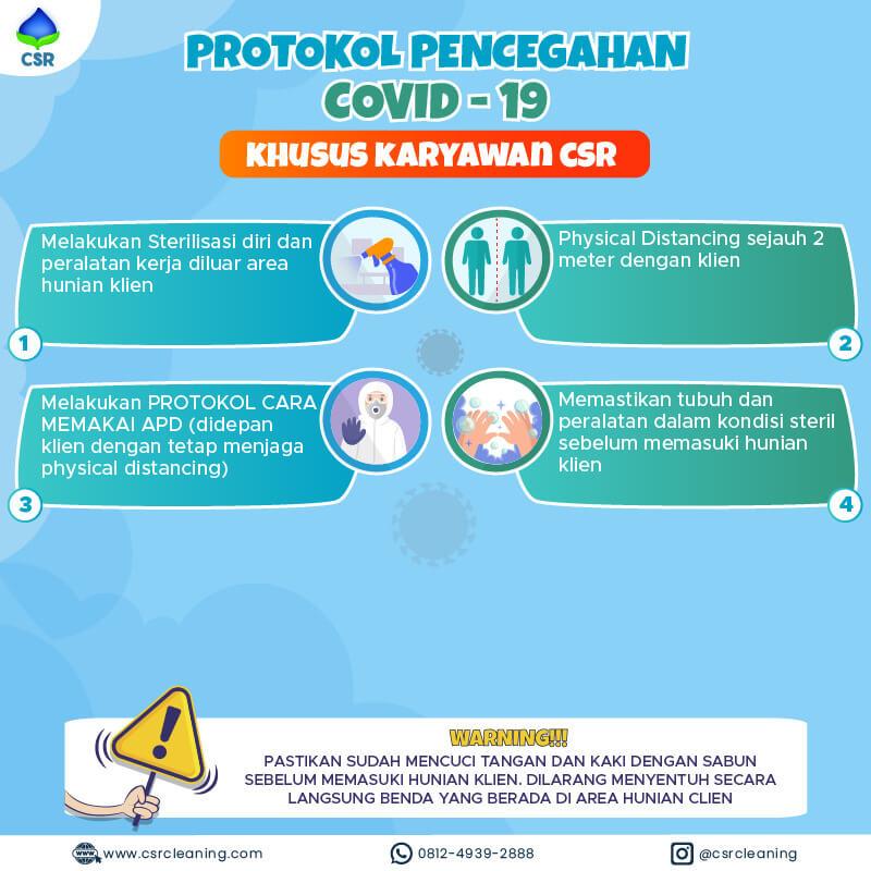 Protokol Pencegahan Karyawan